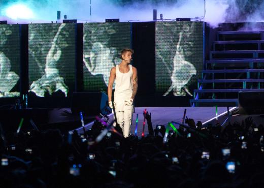 Justin Bieber Brazil Concert Photo
