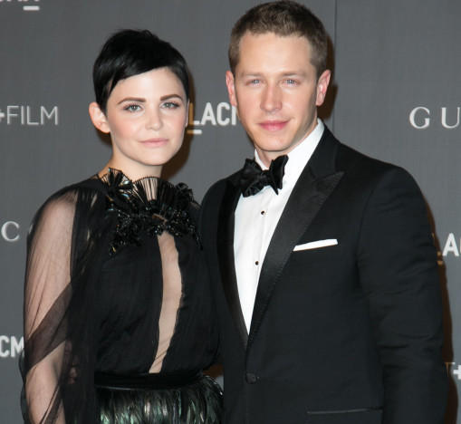 Ginnifer Goodwin with Josh Dallas
