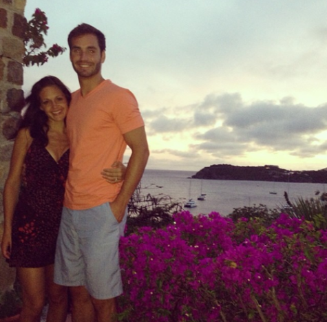 Desiree Hartsock, Chris Siegfried Proposal Pic