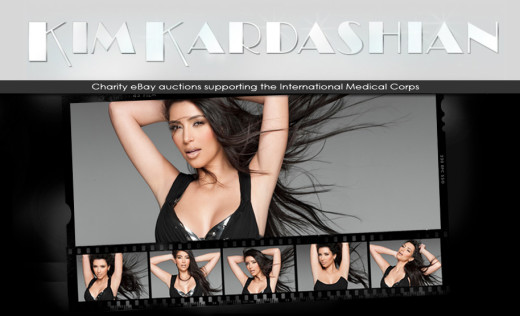 Kim Kardashian Blog Photo