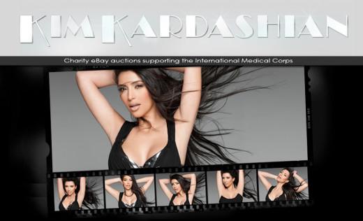 Kim Kardashian Blog Photo