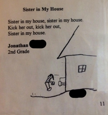Kid Poem About Sister
