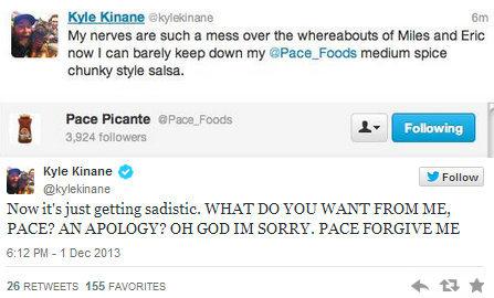 Kyle Kinane Pace 27