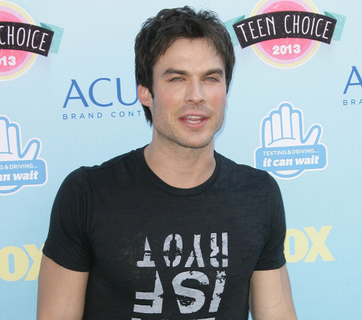 Ian Somerhalder Red Carpet Image