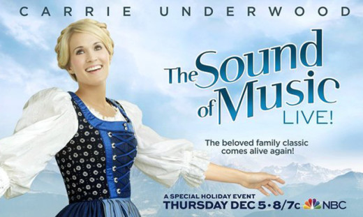 Carrie Underwood Sound of Music Poster