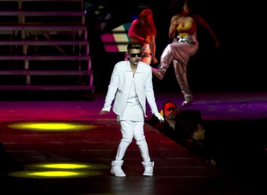 Justin Bieber in Perth