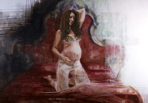 Kate Middleton Lingerie Portrait