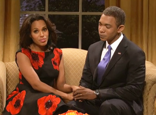 Kerry Washington on SNL