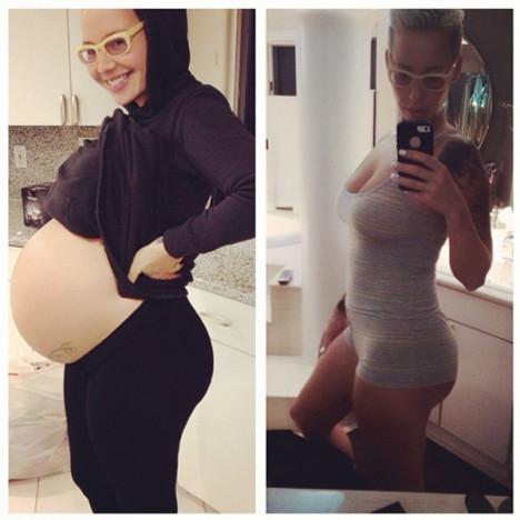 Amber Rose Instagram Pics