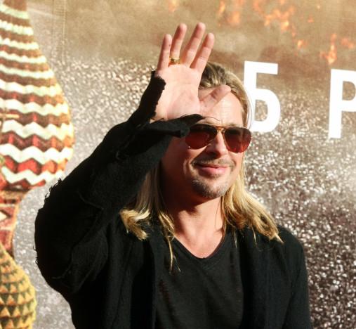 Hello, Brad Pitt!