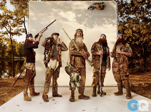 Duck Dynasty Cast Picture