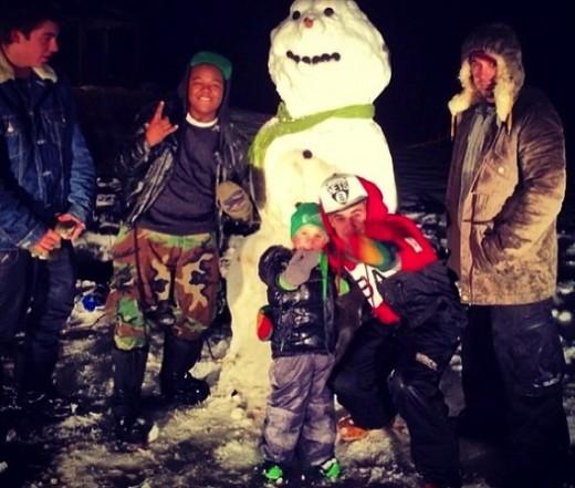 Justin Bieber on Christmas