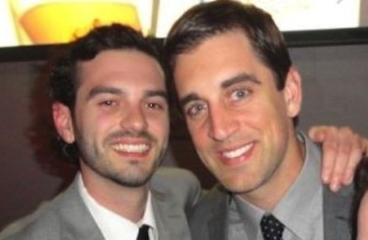 Kevin Lanflisi and Aaron Rodgers