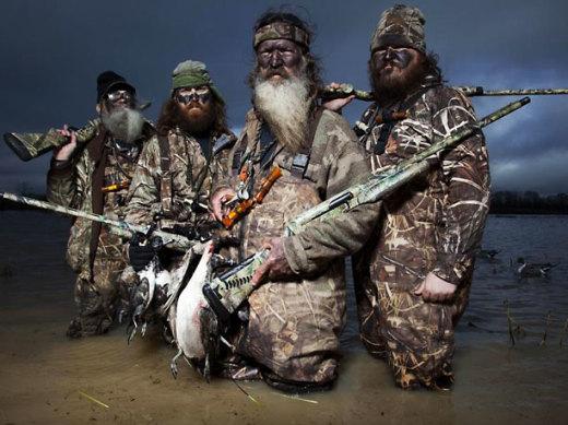 Duck Dynasty, Guns