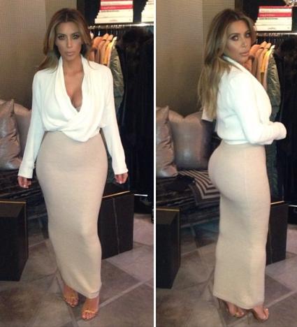 Kim Kardashian Instagram Pics