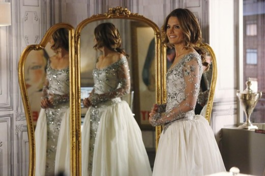 Kate Beckett Wedding Gown