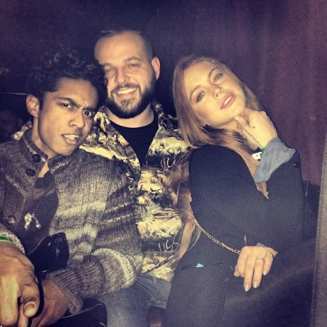 Lindsay Lohan Mean Girls Reunion With Rajiv Surendra