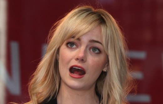 Emma Stone Face