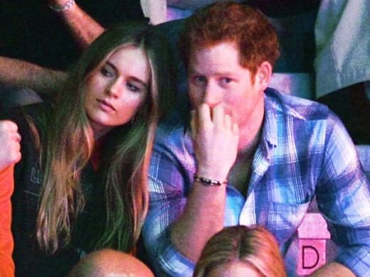 Prince Harry and Cressida Bonas Together