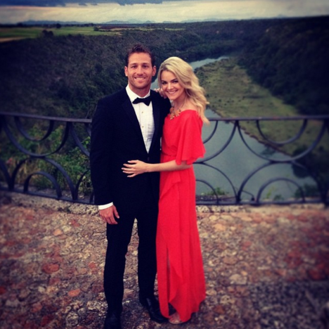 Nikki Ferrell and Juan Pablo Galavis Wedding Photo