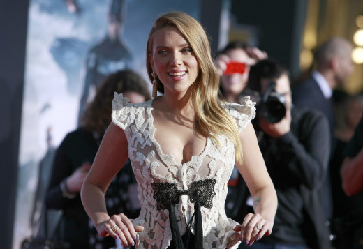 Scarlett Johansson Movie Premiere Photo