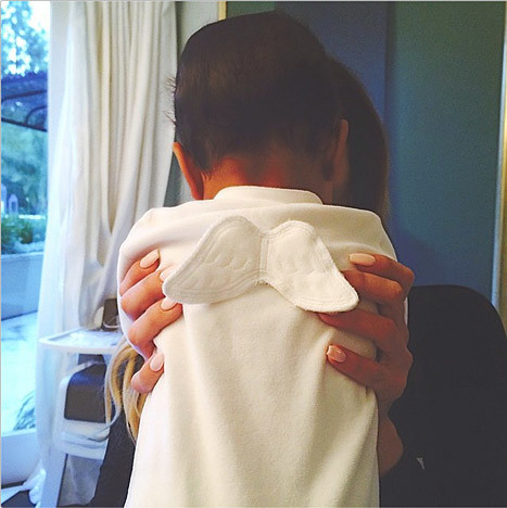 Kendall Jenner Posts Instagram Photo of Angelic North West