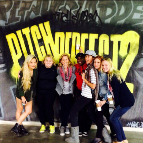 Pitch Perfect 2 Set Shot