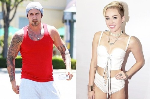 Jeremy Bieber and Miley Cyrus