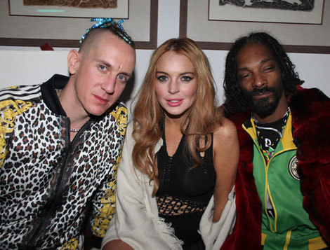 Lindsay Lohan Snoop Dogg Photo
