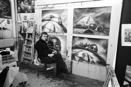 HR Giger Photo