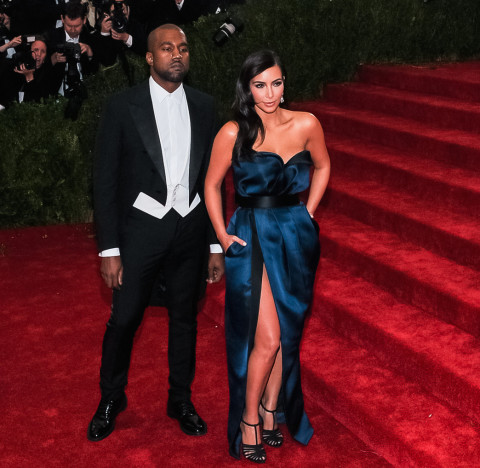 Kim and Kanye, All Dressed Up