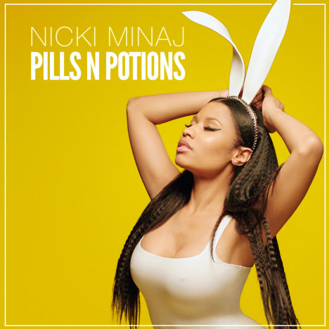 Nicki Minaj Single Artwork