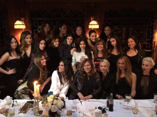 Kim Kardashian Bachelorette Party Pic