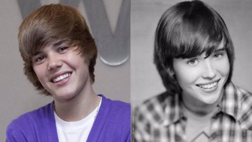 Justin Bieber and Ellen Page