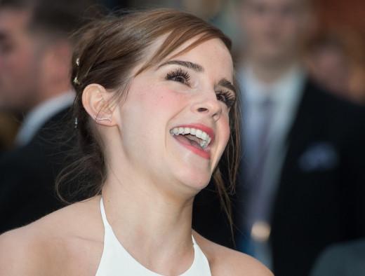 Emma Watson Laughs