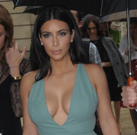 Kim Kardashian for Fashion Week