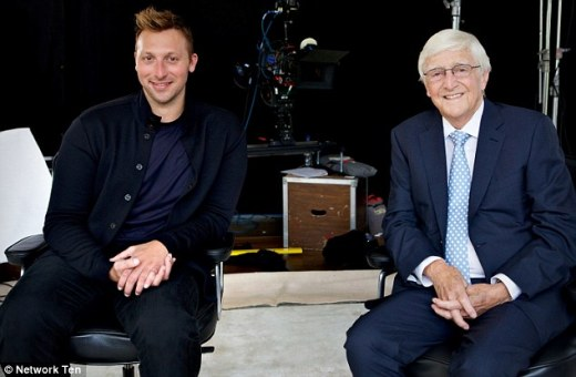 Ian Thorpe and Sir Michael Parkinson