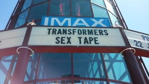 Transformers Sex Tape Sign