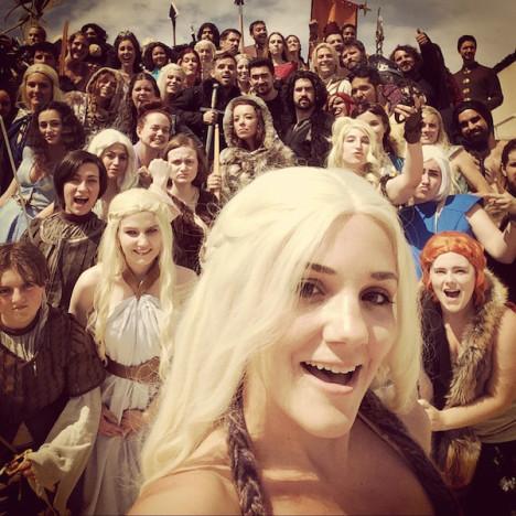 Game of Thrones Cosplay Selfie