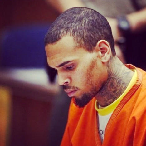 Chris Brown Jump Suit Photo