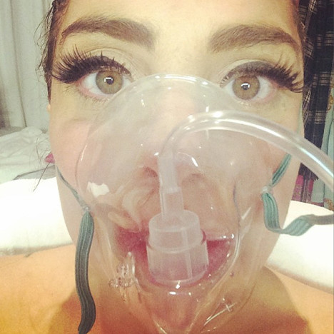 Lady Gaga in the Hospital