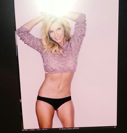 Britney Spears in Her Underwear