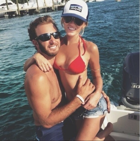 Paulina Gretzky, Dustin Johnson Pic