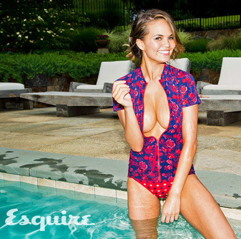 Chrissy Teigen for Esquire