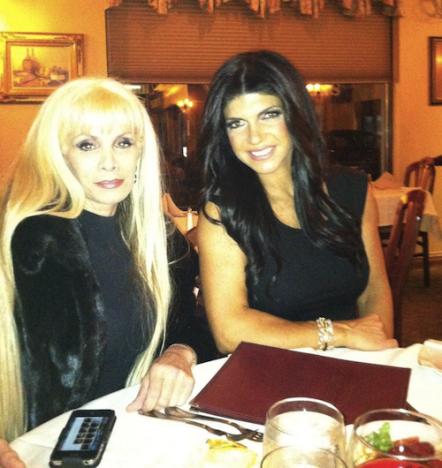 Victoria Gotti and Teresa Giudice