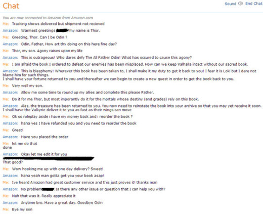 Amazon Customer Service Chat