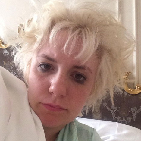 Lena Dunham in Bed