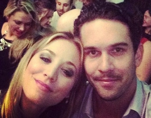 Kaley Cuoco and Ryan Sweeting Instagram Pic
