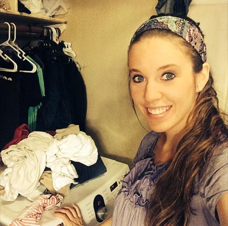 Jill Duggar, Laundry