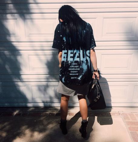 Kylie Jenner Loves Yeezus